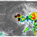 Tempête tropicale ISAAC – Prévisions