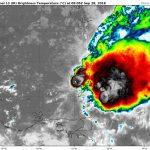 Tempête tropicale KIRK – Prévisions