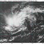 Dépression tropicale N°5 à l'Est des Petites Antilles
