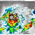 Dépression tropicale N°10 – Prévisions