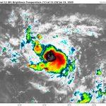 Tempête tropicale GONZALO – Prévisions