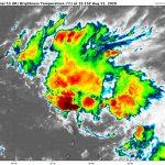 Tempête tropicale LAURA – Prévisions